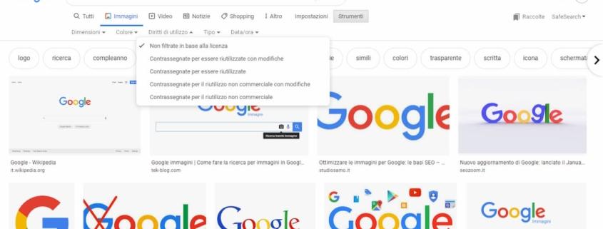 google-immagini-cerca-immagini-per-diritto-di-utilizzo