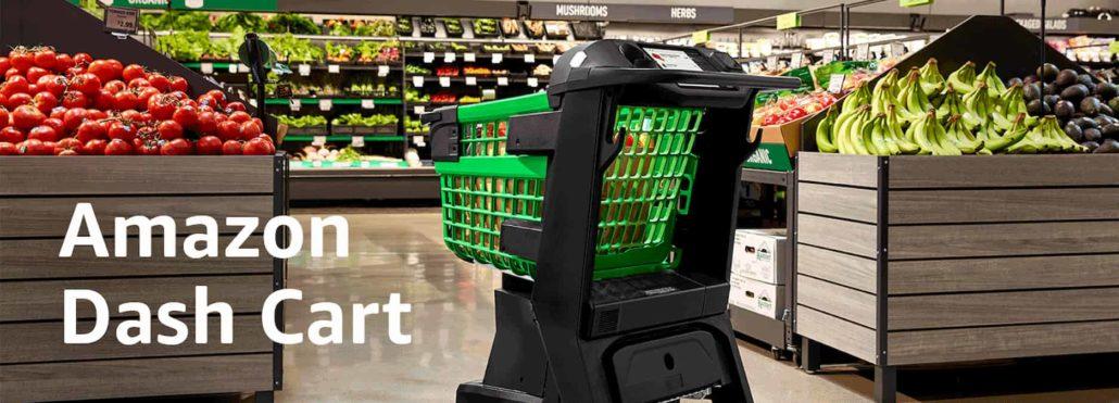 carrello intelligente Amazon Dash Cart